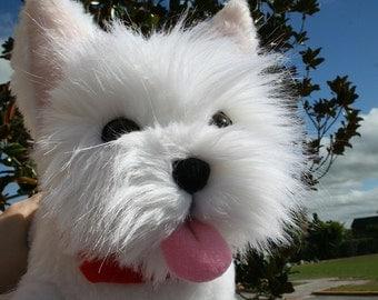 Handmade Dog Portrait Plush - any breed
