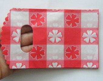 50 Plastic packets 15 x 9cm