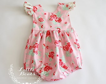 Mia Rose Bubble Romper 3m - 3T