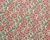 Liberty tana lawn printed in Japan - Celandine - Pink