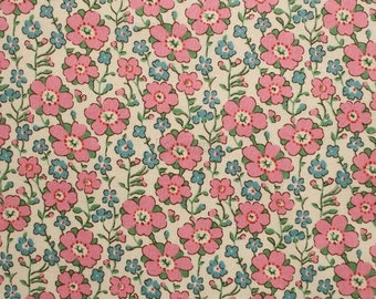 Liberty tana lawn printed in Japan - Celandine - Pink