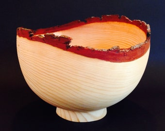 Wood Bowl Monterey Pine from Pebble Beach California