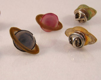 Planetary Lapel Pin / Tie Pin
