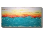 Art painting Jmjartstudio Original Painting 24 X 48 Inches ------- Subtle Changes  -----custom