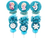 Frozen Themed Candy Kabobs - 12