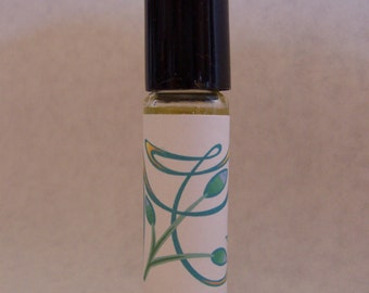 Plumeria (type) perfume oil, roll on perfume, floral fragrance, by Deer Run Soap Works