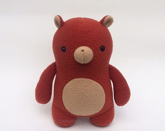 Cute Stuffed Toy Animal Bear, Christopher - Plush Toy Bear Collectible 2nd edition