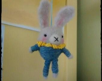BamBam bunny, easter felt ornament