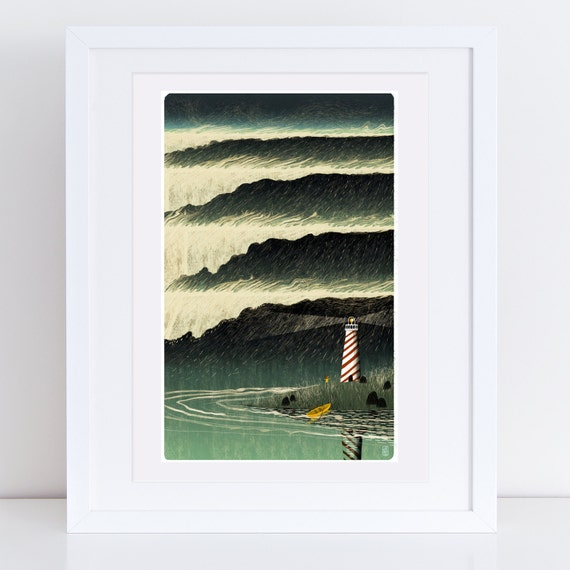 Sanctuary #8 - Signed Print from Cruel & Curious