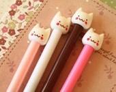 Sweet Cute Cat Cartoon kitty pens