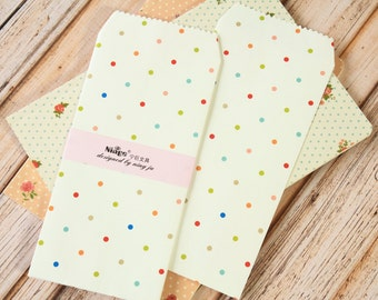 Colorful Dots Tall Envelopes