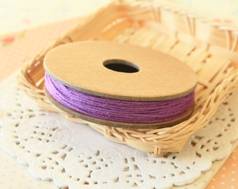 Solid Purple PLUM Divine Twine 20yd Reel 4-ply cotton bakers twine string