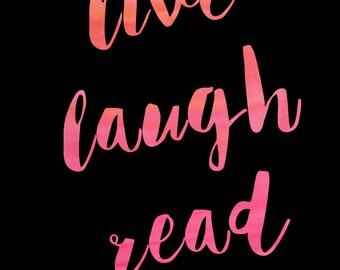 live laugh read 2