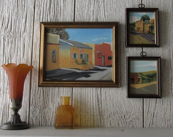 Santa Fe Streets- framed prints, The Plaza