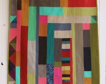 Modern Abstract Quilt