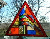 Original Pyramid Stained Glass