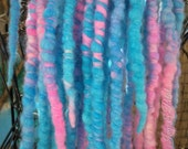 Cotton Candy Wool Dread Accent Kit