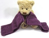 Cotton Dishcloths Purple ~Large Crochet Cotton Washcloths  Set of Two, Hostess Gift, Present for Teacher, Kitchen Accessory, Amethyst