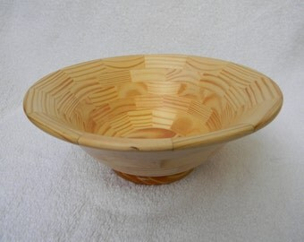 Segmented Bowl #157