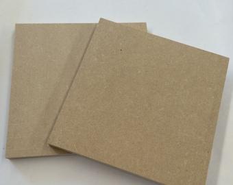 """Wood MDF 6x6"""" (2pc)//Craft Base//Paint Base//Mosaic Base//Wood Form"""