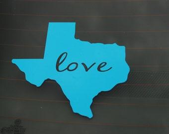 Car Decal ~ State Car Decal ~ ANY STATE Car Decal ~ State Love Car Decal ~ Home State Car Decal ~ Custom Car Decal ~ Window Vinyl Decals