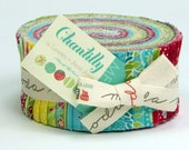 Chantilly by Lauren & Jessi Jung for Moda  - 100% Cotton - 40 Strip Jelly Roll