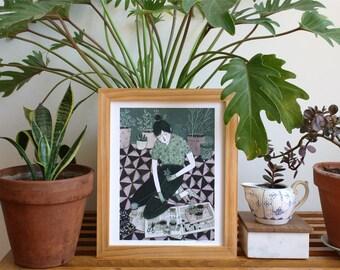 Green Thumb (print)