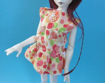 Polka Dot Dress for MSD SD+ Ball Jointed Doll