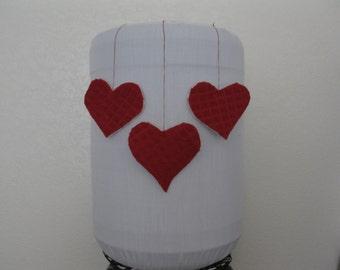 Love Damask Cooler Decor 5 Gallon Bottle Cover-  Burgundy White Cooler Decor Dispenser Cover