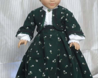 Civil War dress for your American Girl, Addy's or any other 18 inch doll