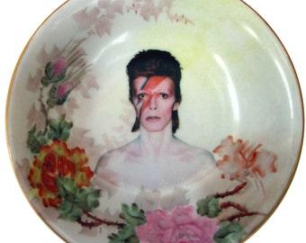 """David Bowie Portrait Bowl - 5.4"""""""