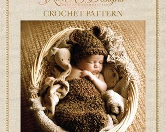 Little Bear Cocoon Crochet PDF Pattern