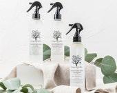 Natural Linen Spray - Lavender, Lemongrasss or Peppermint