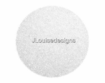 White Sanding Sugar  Edible Sprinkles Cake Cookie Decorations Confetti