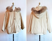 Vintage 1980s IL BAGATTO oversize feather down coat w/hood