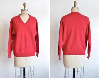 Vintage 1990s BENETTON wool v-neck sweater