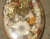 Vintage Holiday Christmas Corsage In The Box By Bea West