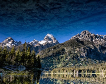 Taggart Lake Reflection Fine Art Photographic Print