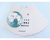 NEW YEAR'S Deal!! TWO 2016 Lunar Calendar /// Year Of Moons