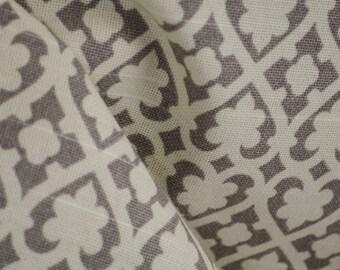 Grey Geometric Print Fabric Soul Mate
