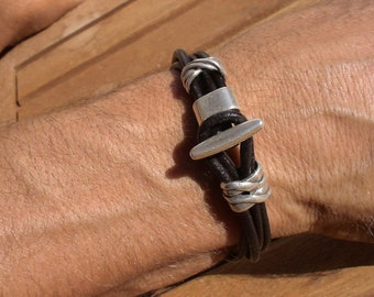Mens designer bracelets, t clasp bracelet, silver bracelets, sterling silver, bracelets for Men, bracelet design, mens fashion jewelry