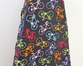 Ironing Board Cover - bright bicycles