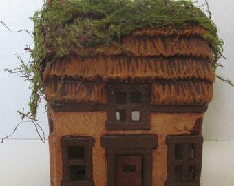 Ceramic Garden Fairy House