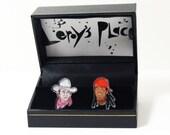 John Wayne Lil Wayne Acrylic Cuff Links