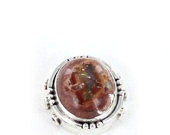 Pendant Mexican Opal Sterling 3 Hole #1  NewWorldGems