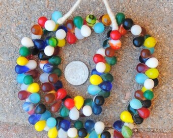 African Wedding Beads: Tear Drops