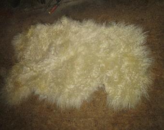 Wensleydale sheep skin