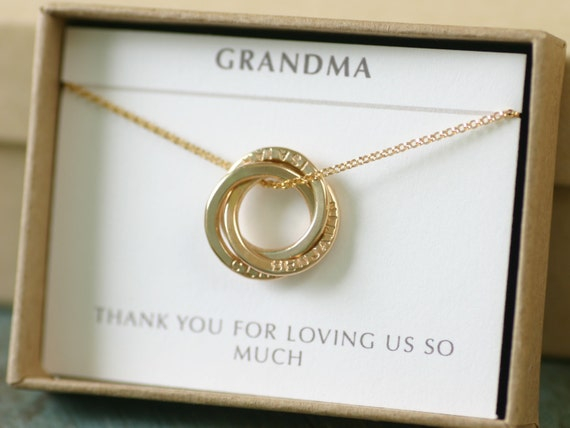 kids names necklace gold grandma necklace new mom necklace. Black Bedroom Furniture Sets. Home Design Ideas