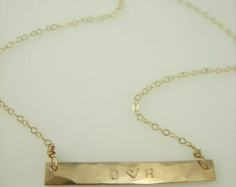 2 Inch Bar Necklace