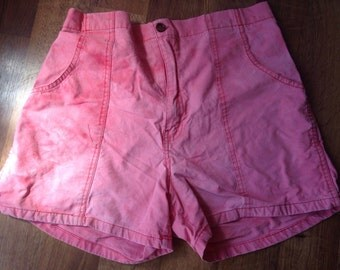 Vintage Weeds brand mens shorts size medium pink or pinkish orange 1980s 1990s